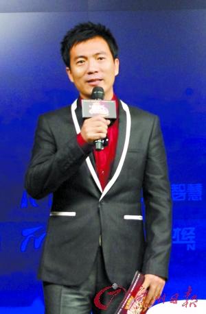 黄健翔跨界主持财经综艺节目《股市天天向上》