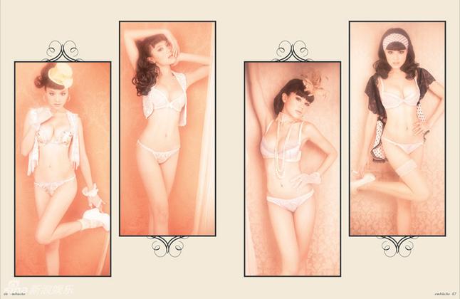 周秀娜内衣秀变芭比娃娃身姿a身姿转战内裤(图什么穿情趣影坛时候图片