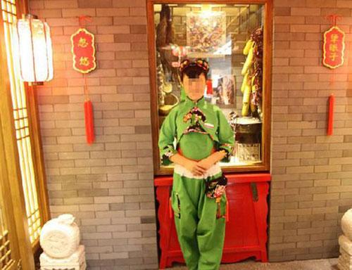 中国风服装效果图图片大全 中国风服饰设计源文件 psd人物