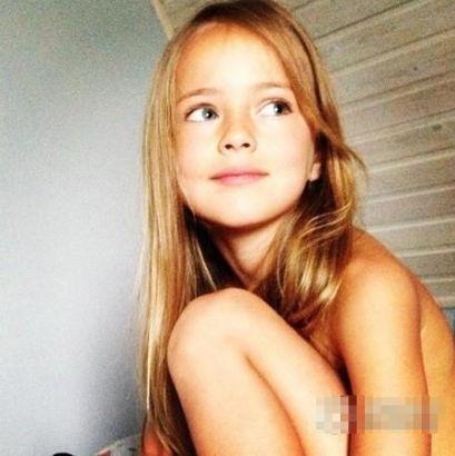 俄罗斯9岁小萝莉成国际超模 被誉世界最美少女[9]- 中国日报网