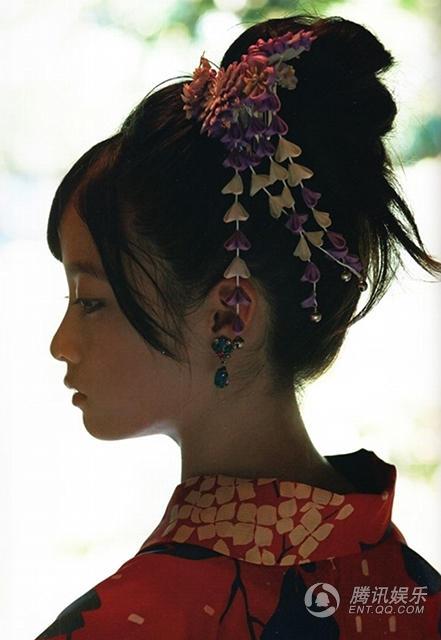 日本和服美女曝千年写真15岁桥本环奈清纯动视频嘟嘟美女图片