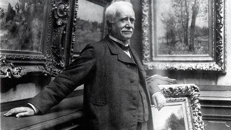 杜兰德·鲁埃,照片大约摄于1910年.