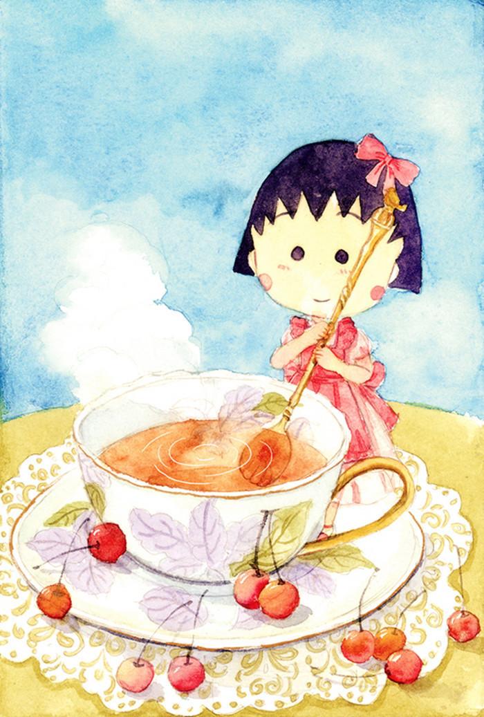组图:樱桃小丸子迎50岁生日
