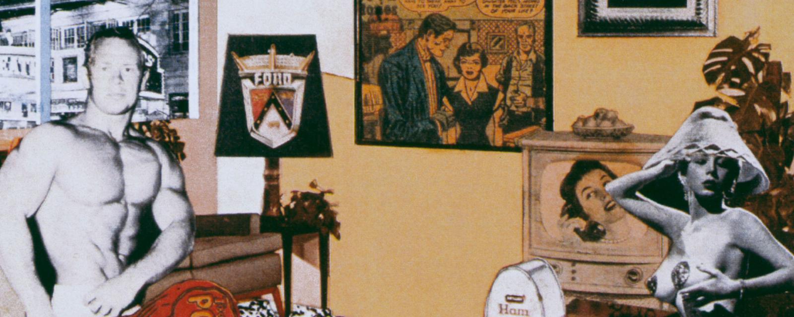 波普艺术之父:理查德 183 汉密尔顿 1 中国日报网