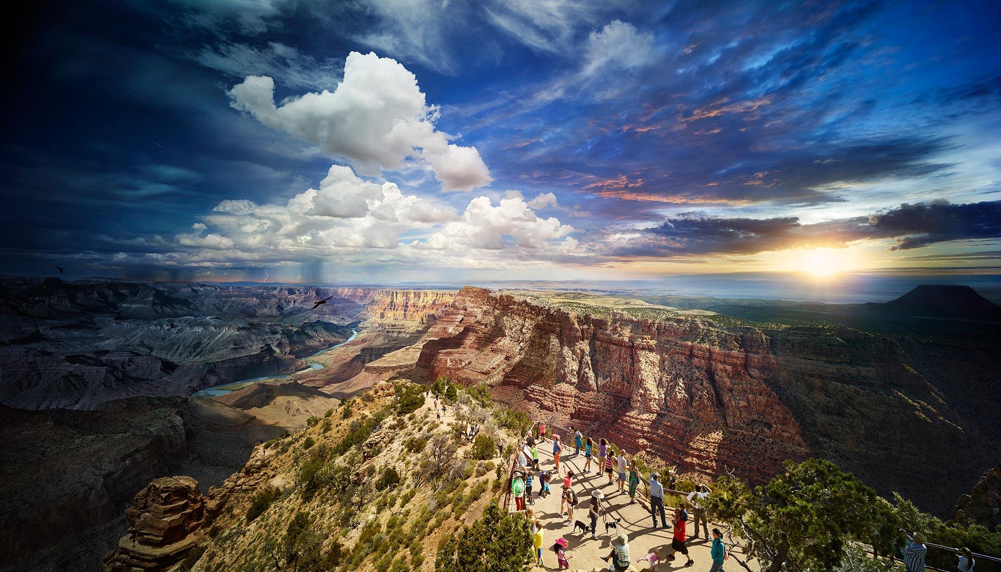 美国大峡谷国家公园_太行山大峡谷