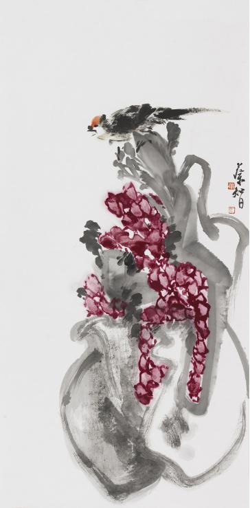 蔡智大写意花鸟画的师承关系与创作观点