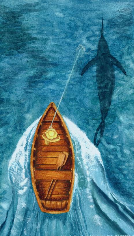 老人与海 一本希望之书
