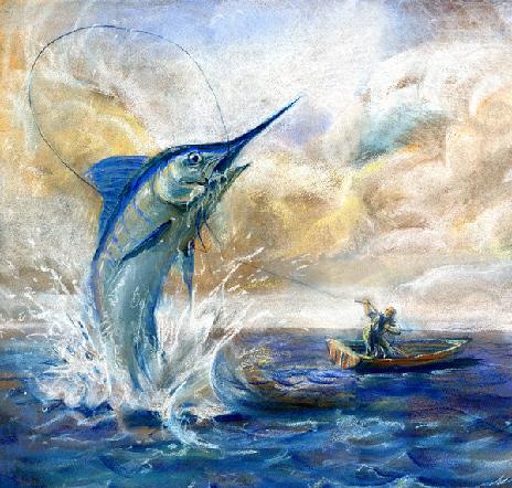 《老人与海》:一本希望之书[2]