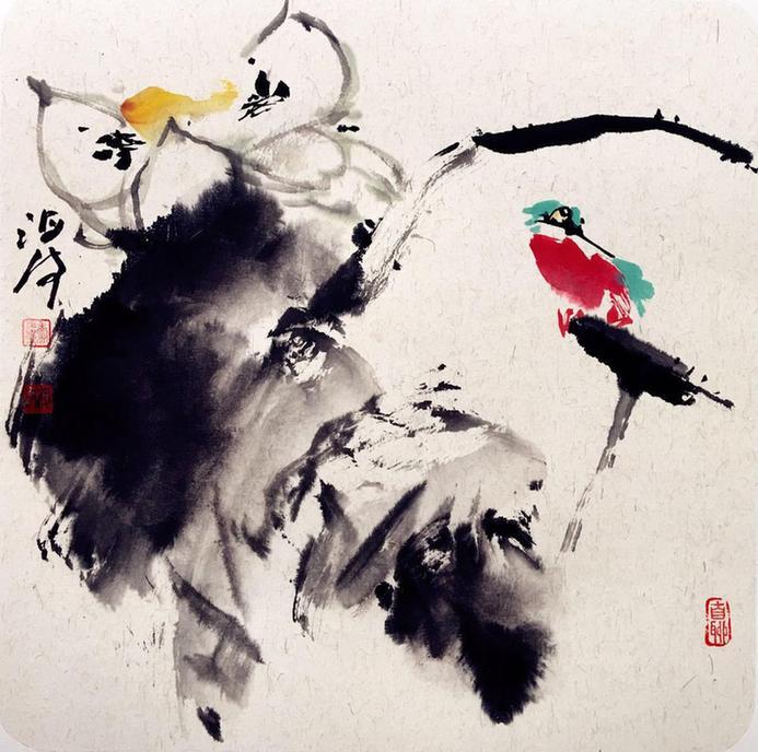 著名画家李海波作品欣赏