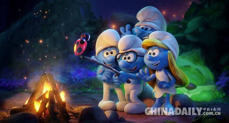 《蓝精灵:寻找神秘村》今日公映 顶级动画大片