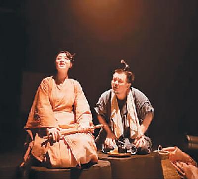 """北京""""指鹿文化""""出品戏剧《鹅笼书生》日前在北京剧场上演"""