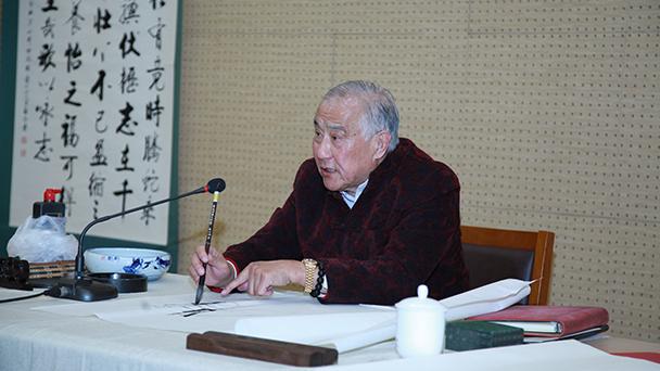 北京建筑大学启骧书画艺术研究院成立