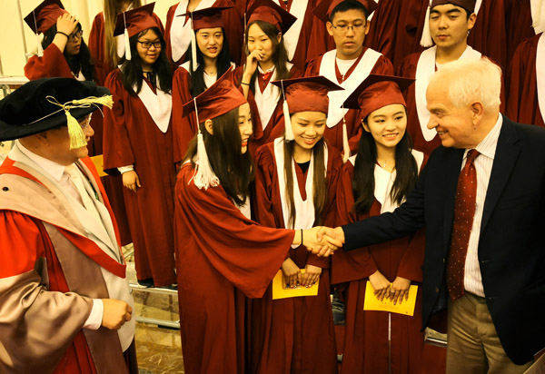 中加学校2018毕业典礼在京举行
