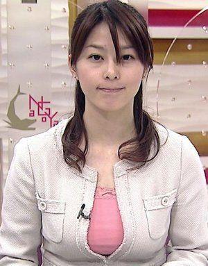 日本巨乳美女主播播新闻 收视率飙升(图) - 时