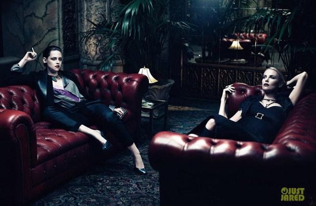 《白雪公主》两大哥特美女演绎黑暗系魅力图