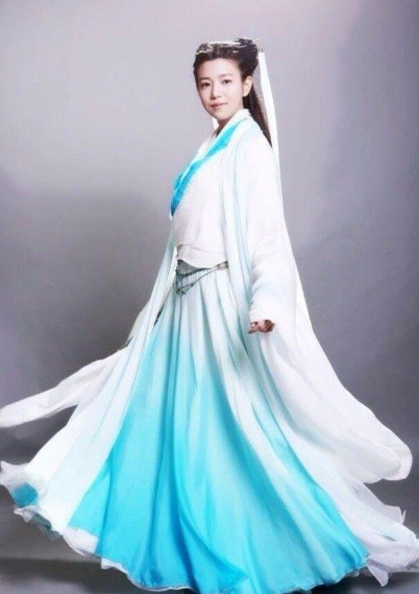 陈妍希版小龙女造型曝光 时尚中国