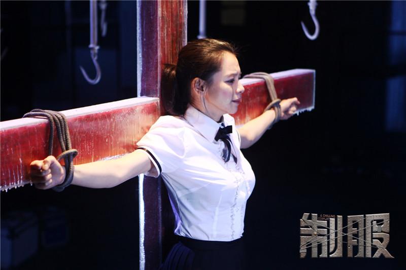 《制服》曝徐若瑄造型 冰窖受虐演绎暴力美学
