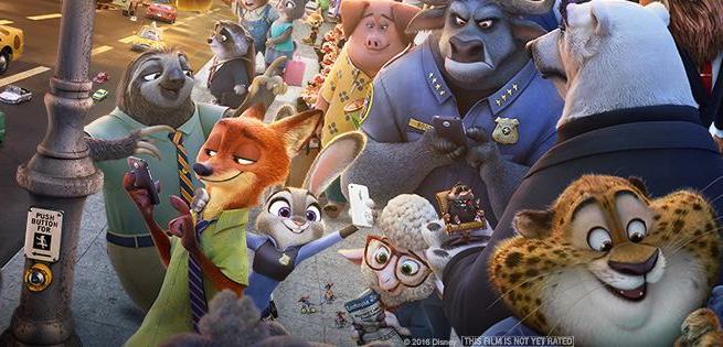 迪士尼动画电影《疯狂动物城》 这是我2016年看的第一部电影。我必须承认,《疯狂动物城》的总体质量真的过硬。在我写这篇影评时,它在烂番茄(Rotten Tomatoes)上仍然保持着高达99%的好评。 今年会有多部以动物为主题的电影上映,比如《功夫熊猫》(Kung Fu Panda)、《海底总动员:寻找多莉》(Finding Dory)、《冰河时代5》(ICE AGE 5)、《北极移民》(Norm of the North)和《愤怒的小鸟》(Angry Birds)。但在我看来,没有一部动画电影能像《疯