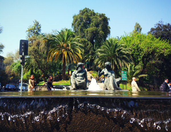 走进智利首都——圣地亚哥