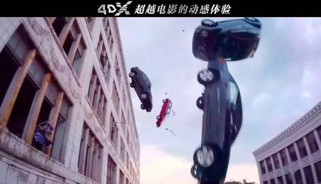 《速度与激情8》爆颠覆回顾特辑 4DX版重磅