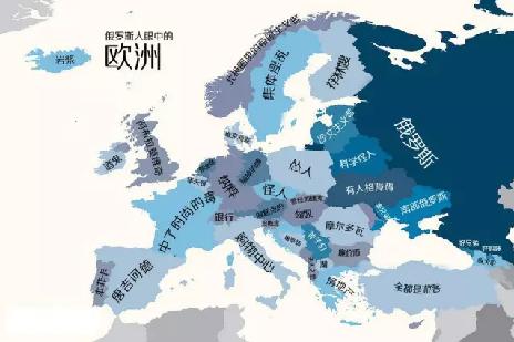 世界偏见地图 | 一个国家真的存在截然不同于他国的个性吗?