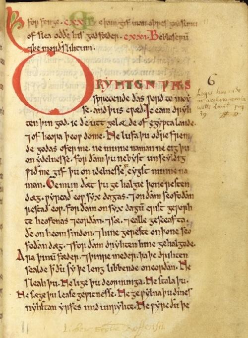 数字版《罗切斯特教堂文告》带你领略早期英国法律